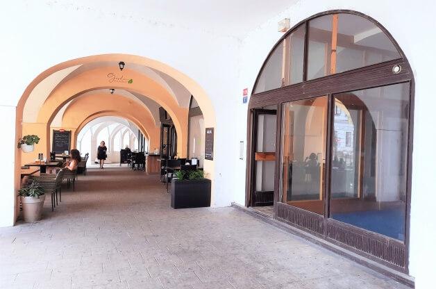 komerce v centru Hradce Králové