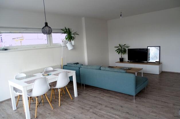 Slunný byt 3+kk