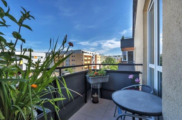 útulný 2+kk s balkonem