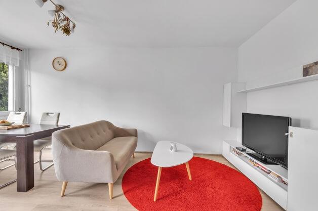 Zděný byt 2+kk s balkonem