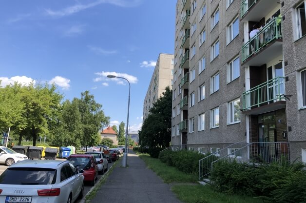 Zrekonstruovaný byt 1+1